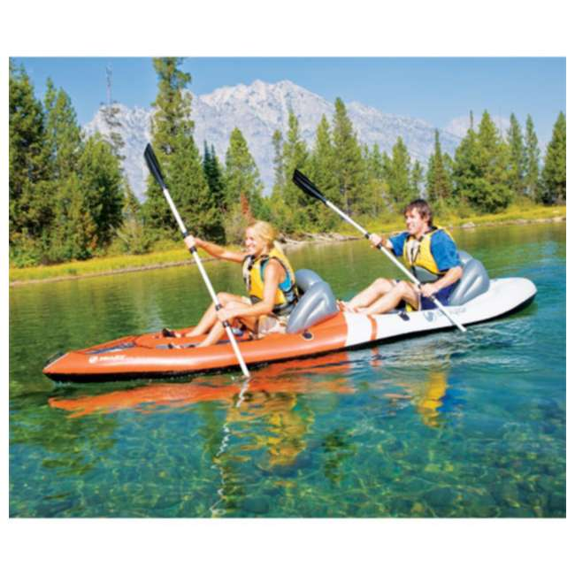 2000003406 Sevylor 3406 Sit-on-Top 2-Person Kayak w/ Aluminum Paddle 1