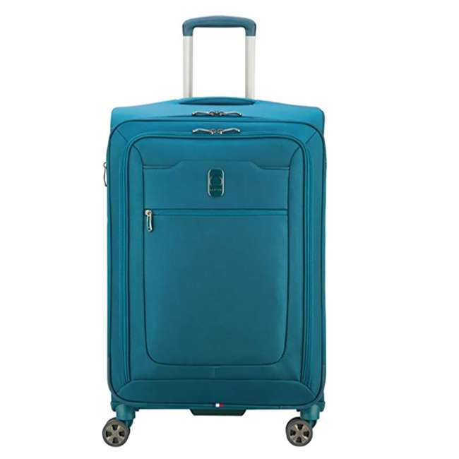 40229198732 DELSEY Paris 3 Sized Reliable Hyperglide Softside Travel Luggage Bag Set, Teal 4