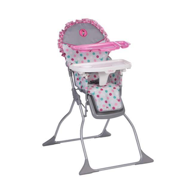 HC218EGF Disney Baby Simple Fold Plus High Chair with Adjustable Tray 1