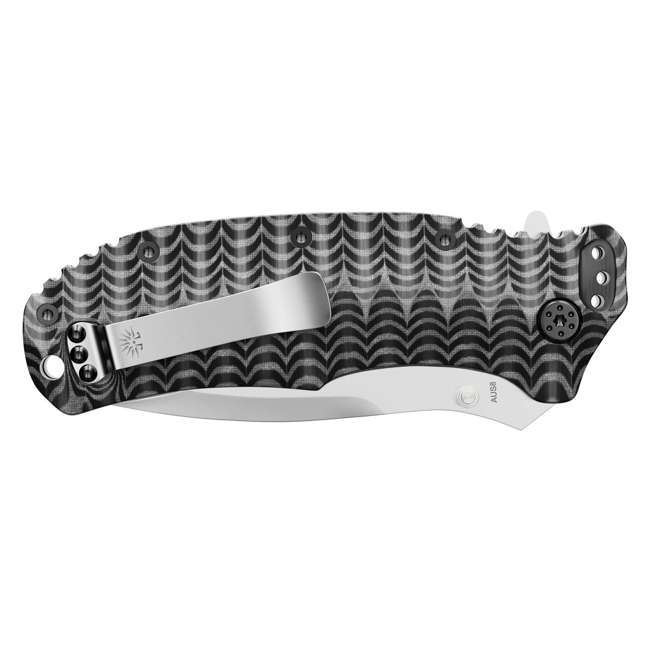 X001YSUWIX - 7777891276 OG-218 Off-Grid Rapid Fire 7777891276 Black Hawk Folding AUS8 Hard Use Pocket Knife 5