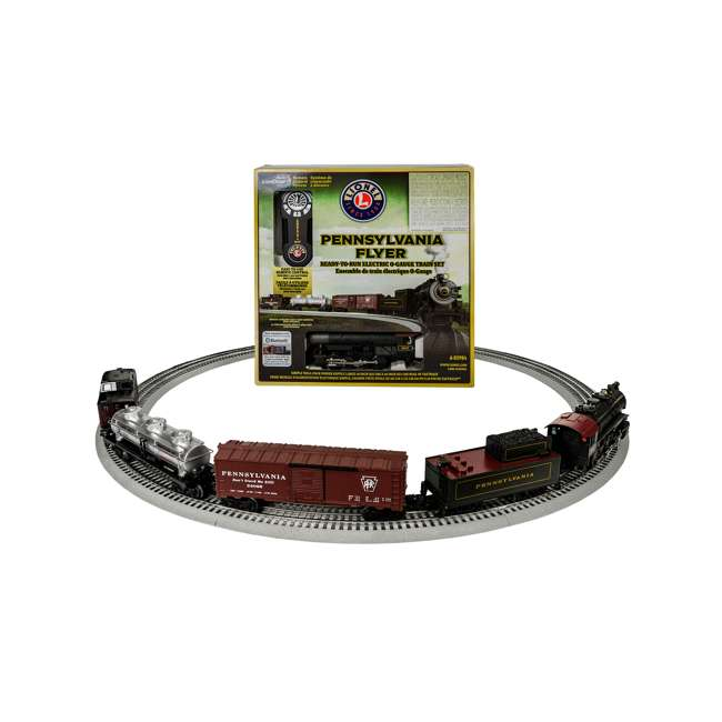 711808 Lionel Trains Pennsylvania Flyer Bluetooth 8-0 Locomotive Train Set (Open Box) 1