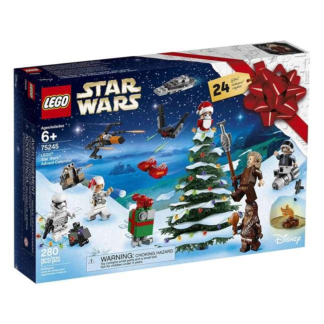 6251914 LEGO 75245 Star Wars 2019 Advent Calendar Block Building Kit w/ 6 Minifigures 2