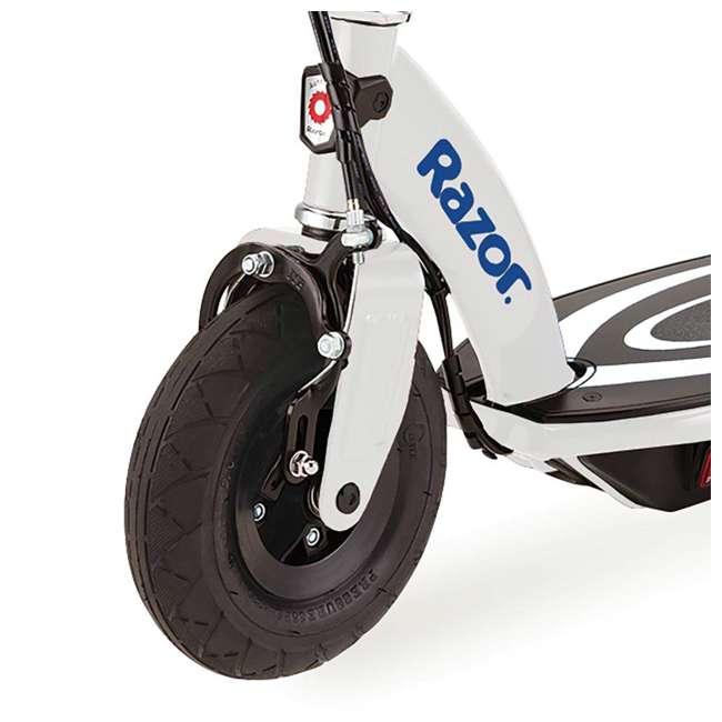 13111210 + 97780 Razor Power Core E100 Electric Scooter, Blue + Razor V17 Childrens Helmet, Glossy Black 4