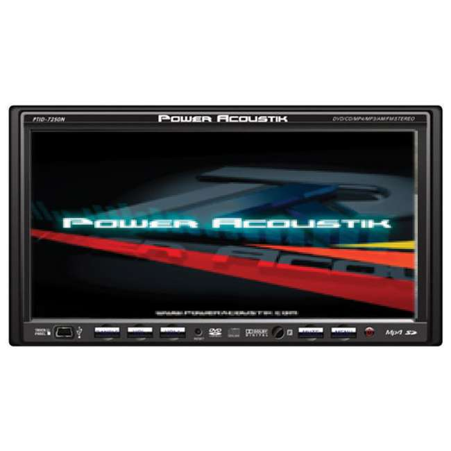 PTID-7250N Power Acoustik PTID7250N 7-Inch LCD In-Dash DVD/MP3/CD Video Player