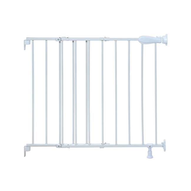 27210B Summer Infant Top of Stairs Simple to Secure Adjustable 42 Inch Metal Baby Gate