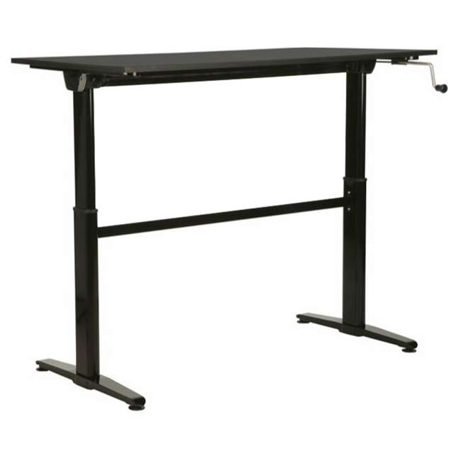 Portable Garages That Stand Up To Winter : Cool living adjustable inches height stand up desk