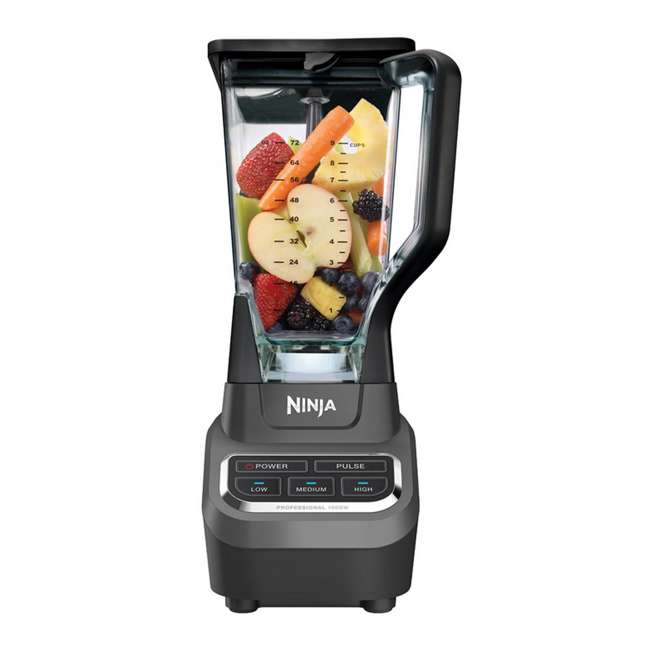 BL610_EGB-RB Ninja Professional 1000 Watt Blender (Refurbished) 4