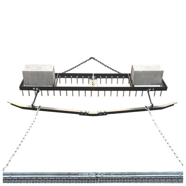 YARD-YTF-618SDLBDM-U-C Yard Tuff 6' Spike Drag, Surface Leveling Bar, Drag Mat for ATV/UTVs (For Parts) 4