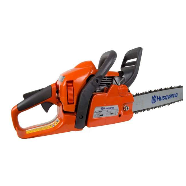 "967166003-BRC-RB-U-C Husqvarna 440 18"" 40.9cc 2.4HP 2 Cycle Gas Chainsaw (Refurb) (For Parts)(2 Pack) 1"