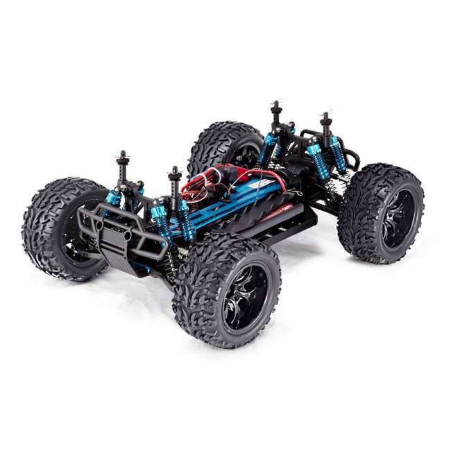 VOLCANOEPPRO-94111PRO-BS-U-C Redcat Racing Volcano EPX Pro 1:10 Scale RC Monster Truck, Blue (For Parts) 3