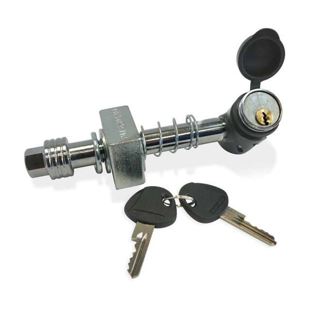 "DRAW-TITE-76028 + SHP2040 Draw Tite Class III/IV Receiver Trailer Hitch & Hitch Pin Locking for 2"" Hitches 6"