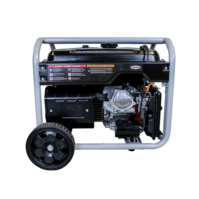 SMPSN-GN-SPG8310E-70008 Simpson SPG8310E 8,300-Watt Portable Heavy-Duty Generator