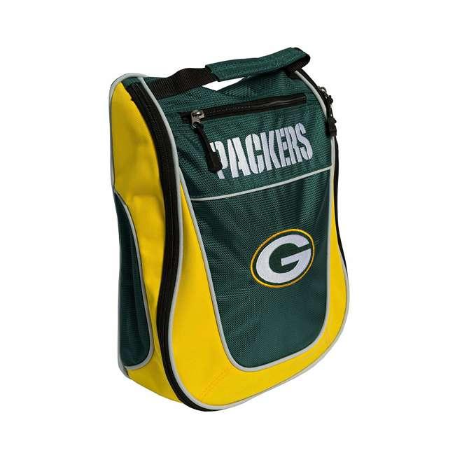 31082 Team Golf USA Green Bay Packers NFL Travel Golf Shoe Bag, Extra Storage Pocket