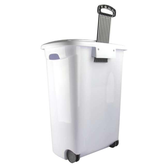 12228003-U-A Sterilite 12228003 Portable Wheeled Laundry Hamper-Open Box                7