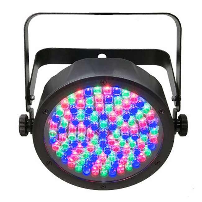 8 x SLIM-PAR56 + 8 x DMX3P10FT + F4PAR-BAG + OBEY6 Chauvet SlimPar 56 LED Par Can Lights + Obey 6 Controller + Bag + Cables 2