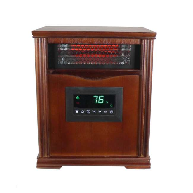 LS-1001HH LifeSmart LifePro 4 Element Infrared Electric Heater 1
