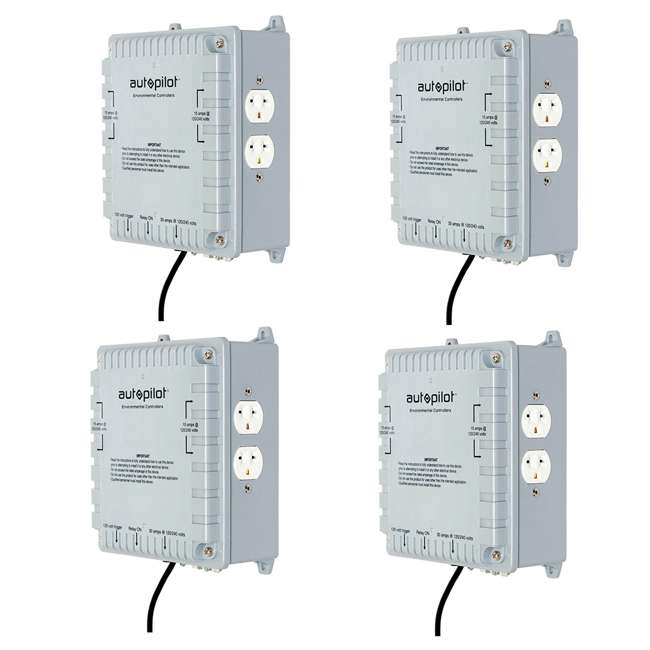 4 x APCL4DX AutoPilot 4000W High Power HID Master Lighting Controller (4 Pack)