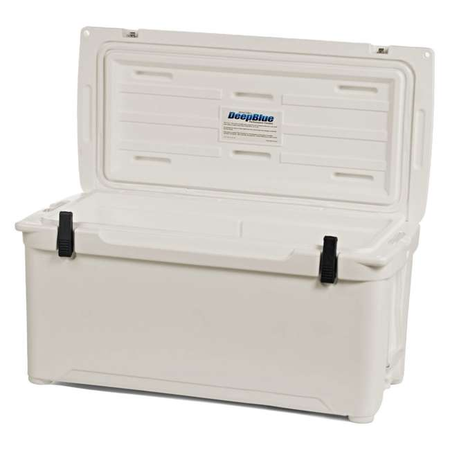 ENG85-CW-U-B Engel Coolers 76 Quart 96 Can Roto Molded Cooler, Coastal White (Used) 3