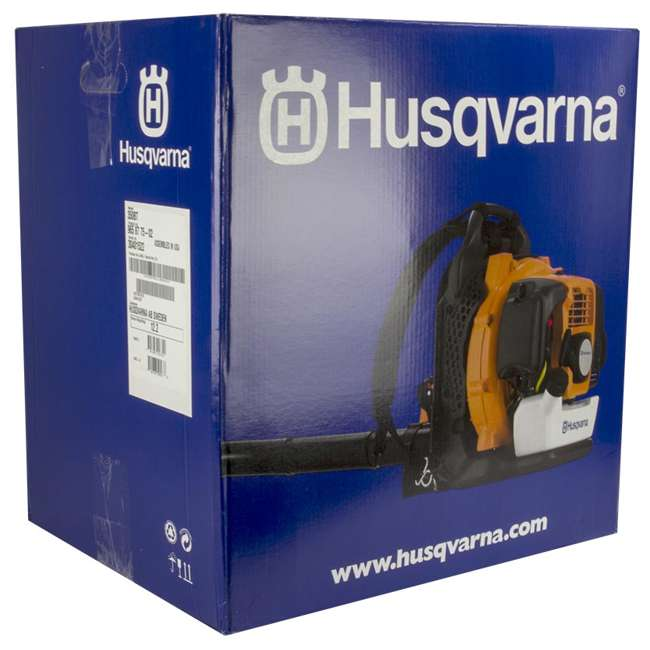 HV-BL-965877502-U-C Husqvarna 50cc 2 Cycle Gas Powered Leaf Grass Backpack Blower 180 Mph(For Parts) 6