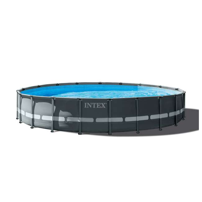 26333EH + 2 x 58868EP + 58821EP Intex Pool Set w/ Inflatable Lounger Chair (2) & Cooler  5