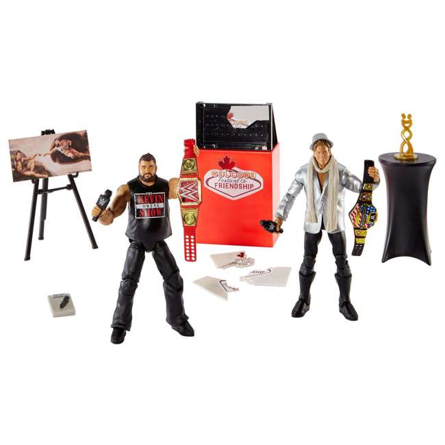 FRX45 WWE Epic Moments Festival of Friendship 2 Figure Play Set 1