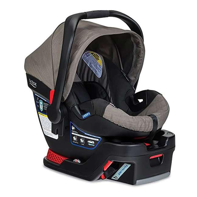 BRI-E1A726R-WMT2 Britax B-Safe 35 Infant Car Seat with Base, Slate Strie 2