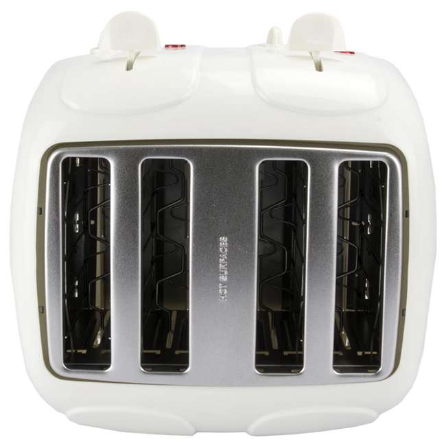 24203Y Proctor Silex 24203Y 4-Slice Cool-Touch Toaster White  4