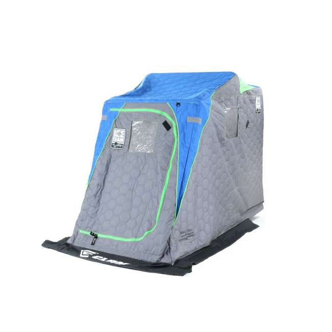 CLAM-10941 Clam 10941 Legend XL Thermal Ice Fishing Shelter with Deluxe Swivel Seat, Blue