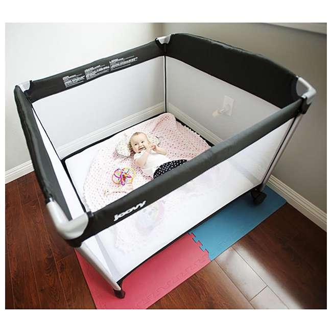 JVY-7017 Joovy Room2 Large Portable Infant and Toddler Playard Playpen 4
