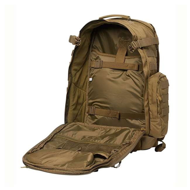 CPG-BP-PHAL-L-C Cannae Pro Gear Full Size 30L Duty Pack w Helmet Carry, Coyote 2