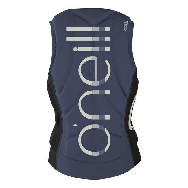 4531-ET7-12 O'Neill Womens Slasher Competition Waterskiing/Wakeboarding Vest, Size 8, Mist 1