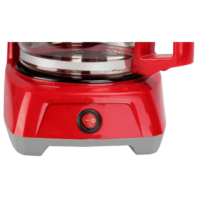 43603 Proctor Silex 43603 12-Cup Coffee Maker | Red 7