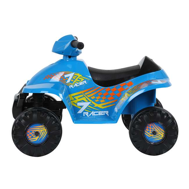 ACQUAD-B Rollplay 6 Volt Battery Powered Charging Toddler Kids Mini Quad Ride-on, Blue 1