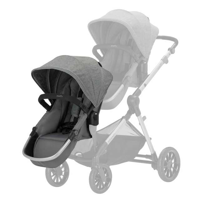 63012254 Evenflo 63012254 Second Seat for Pivot Xpand Stroller, Travel System, Percheron 2