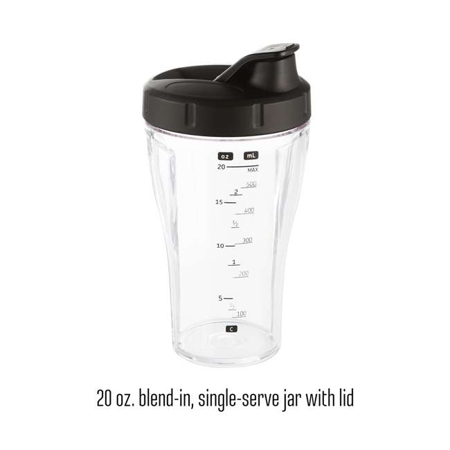 58918 Weston 58918 32 Ounce Blender with Sound Shield 4