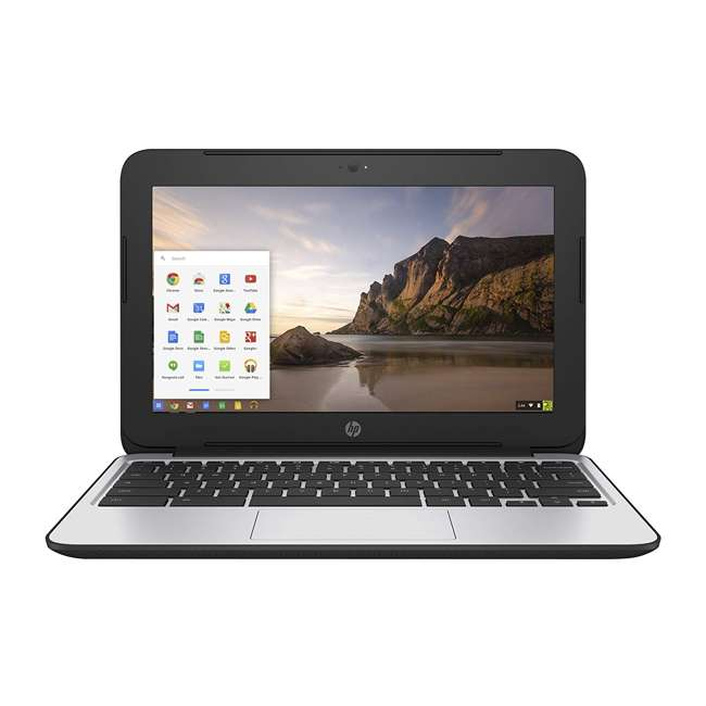 "P0B79UT#ABA-C-SKIN HP ChromeBook 11 N2840, 2GB RAM, 16GB SSD 11.6"" Laptop (Certified Refurbished) 1"