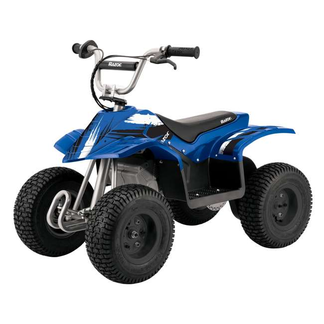 25143042 Razor Kids Electric Off Road Dirt Quad 4-Wheeler ATV, Blue