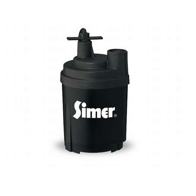 2325-02 Simer 2325-02 Super Geyser 1/4 HP Submersible Utility Pump