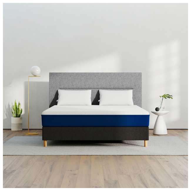 AS1-Q Amerisleep AS1 Back and Stomach Sleeper Firm Memory Foam Bed Mattress, Queen