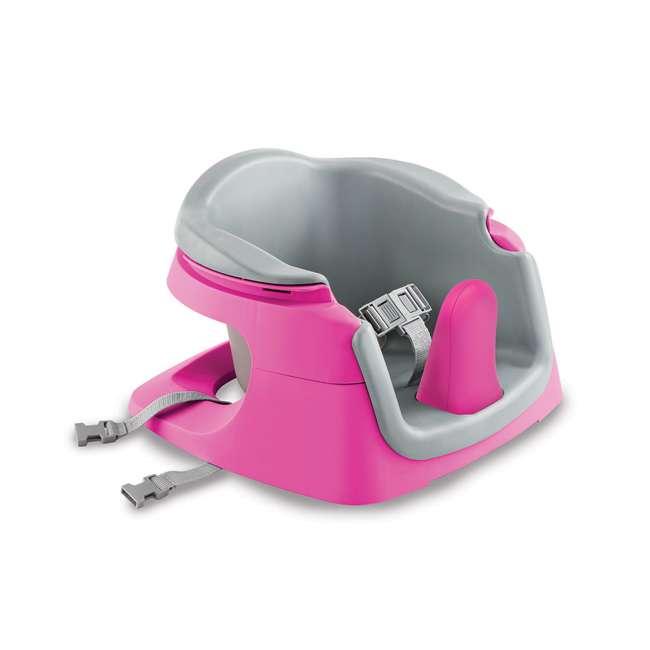 13595 Summer Infant Deluxe 4 In 1 Baby Floor Booster SuperSeat Activity Chair, Pink 2