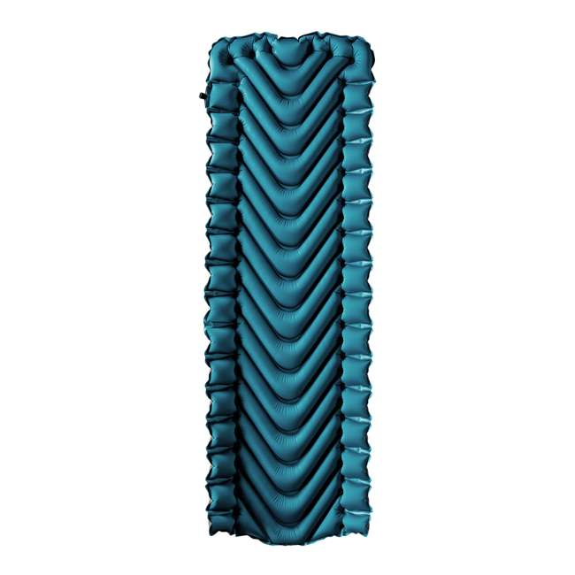 06AVTL01C Klymit Armored V 2 Rugged Superfabric Lightweight Inflatable Sleeping Pad, Blue