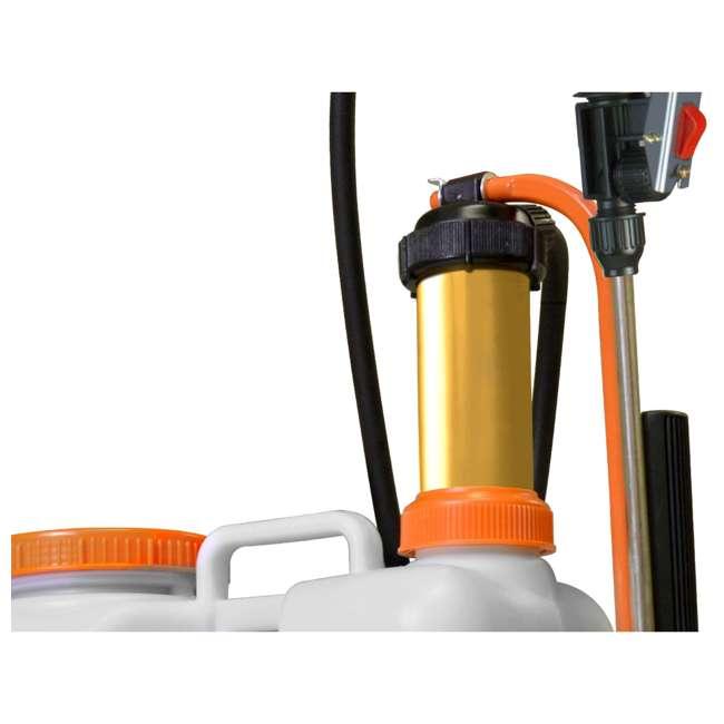 JACTO-1210801 Jacto CD400 Lightweight 4-Gallon Backpack Sprayer 1