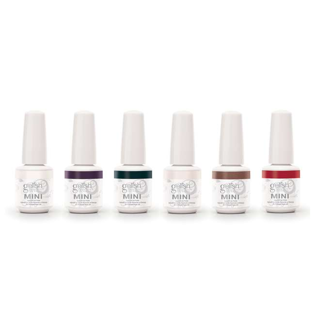 1900203-MARILYN6P Gelish Mini Soak Off Gel Nail Polish Forever Marilyn Collection 6 Colors, 9mL