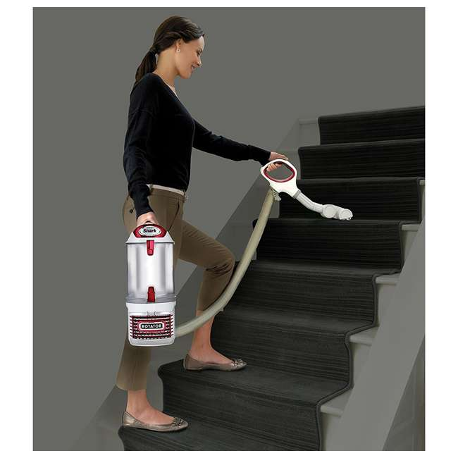 NV501-RB Shark Rotator NV501 Lift Away Bagless Vacuum, Red (Certified Refurbished) 3