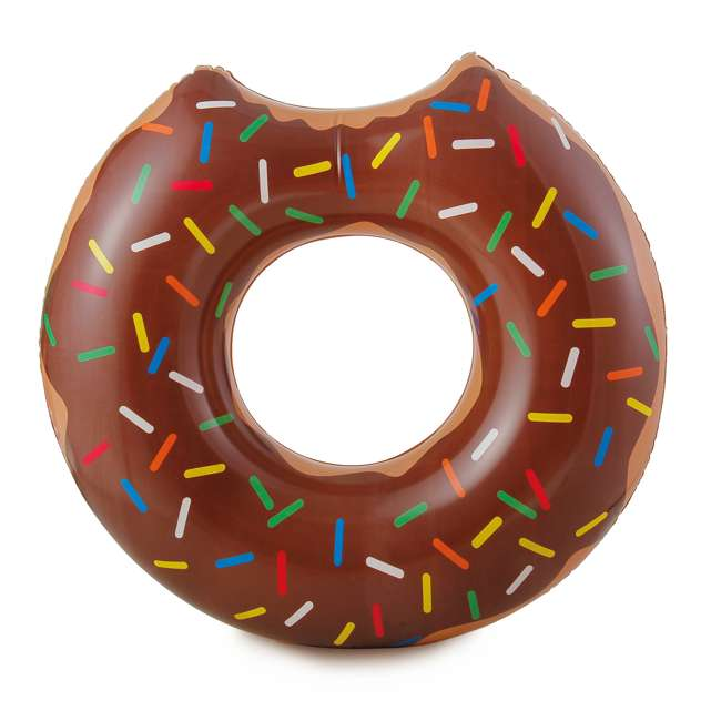 P4A02252B167 + 2 x K10427000167 Summer Waves 22 Ft Above Ground Pool Set + Giant Donut Inflatable Float (2 Pack) 9