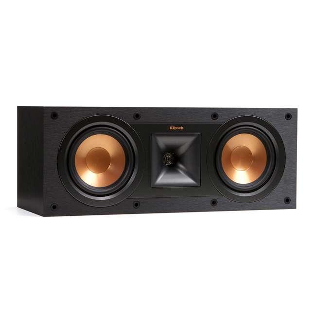 R-25C - RB Klipsch R-25C Powerful Small Aluminum Black Center Channel Speaker, Refurbished