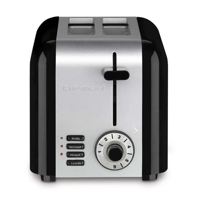 4 x CPT-320-RB Cuisinart 2-Slice Compact Toaster (Certified Refurbished) (4 Pack) 1