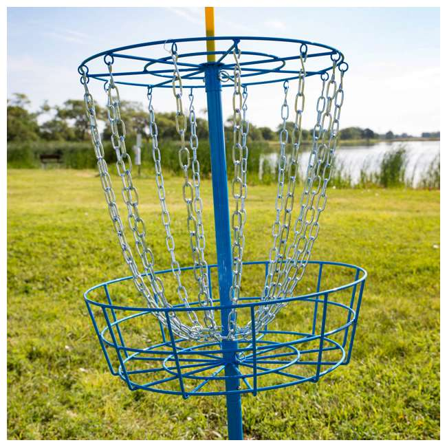 53311 Wham-O PDGA Official Frisbee Disc Golf Set with 3 Discs and Blue Target (Used) 8