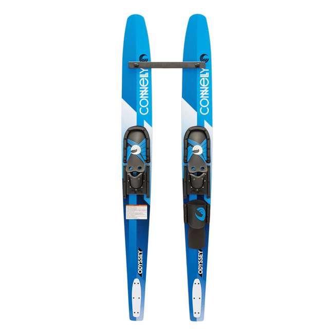 61180308-CON CWB Odyssey Combo Water Skis with Slide Adjustable Bindings