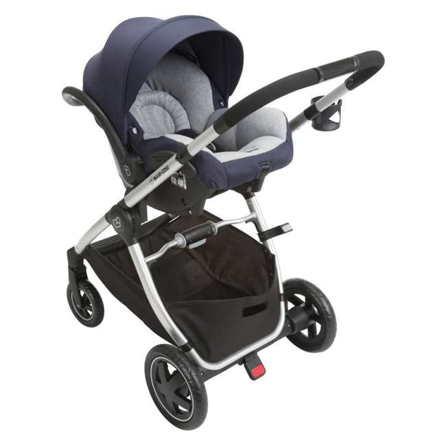 TR362CTD Maxi-Cosi Adorra Stroller and Car Seat Travel System, Brilliant Navy 7
